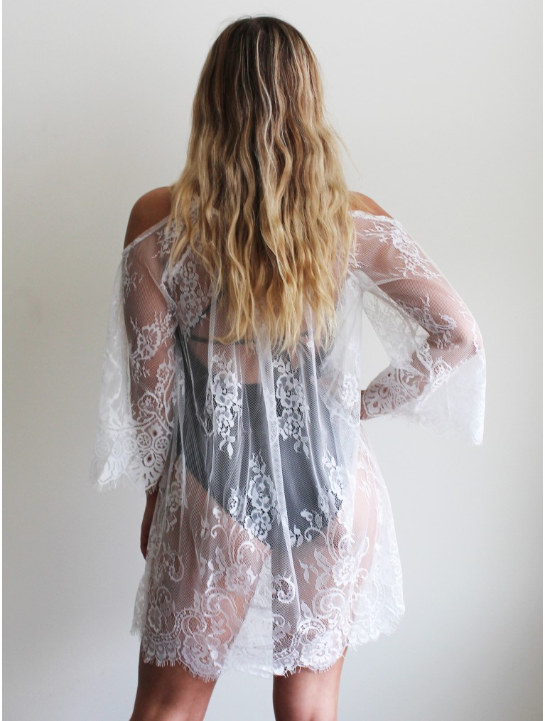 St. Tropez Lace Cover Up