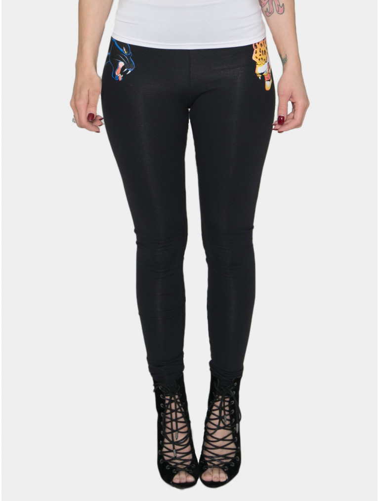 Gianna High Rise Legging With Cats